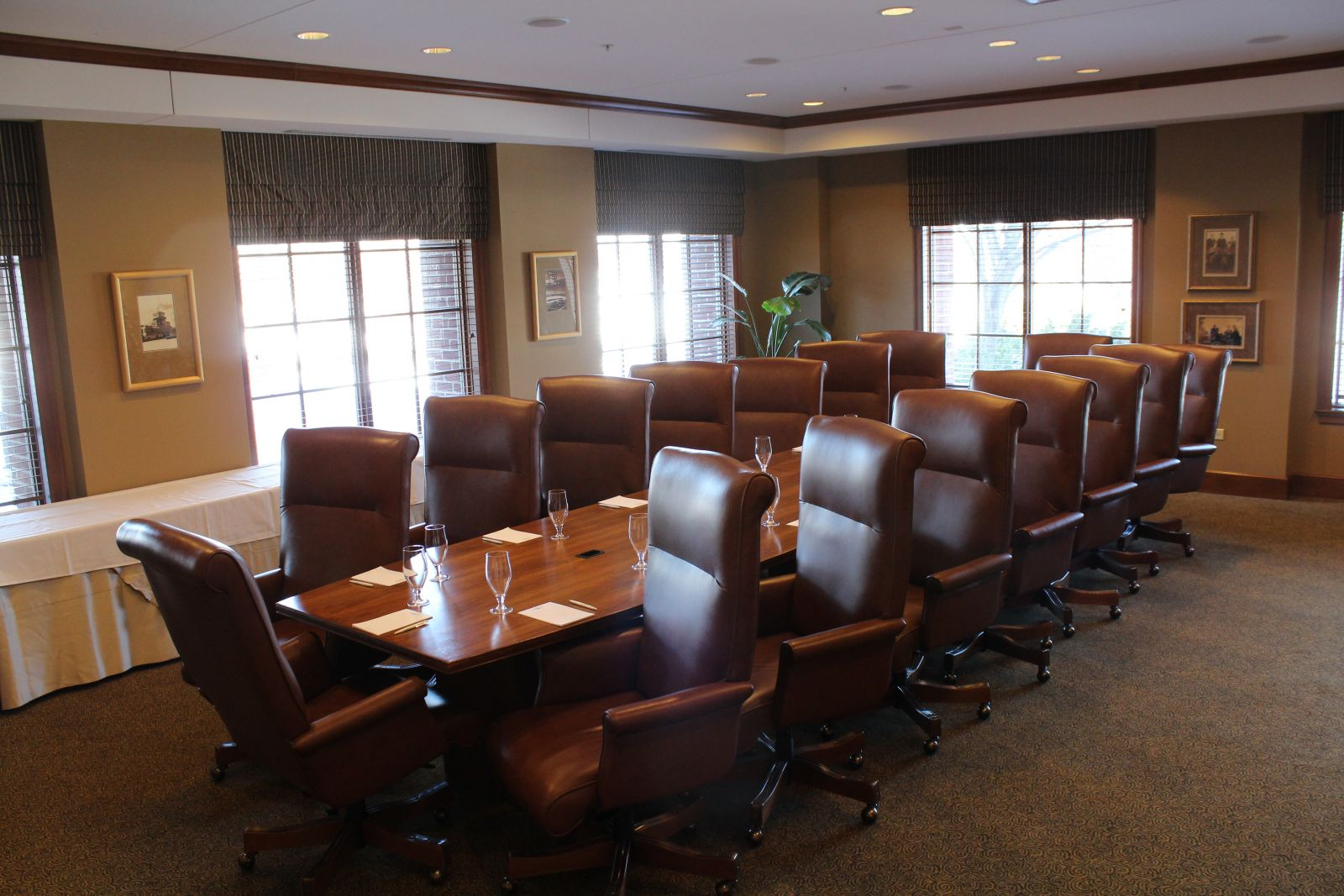 View of a meeting room at The Glen Club